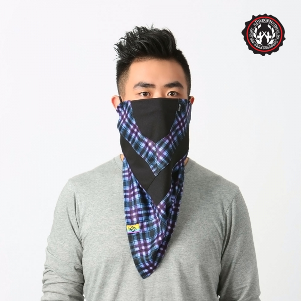 DREGEN TS系列-三角巾面罩-藍格詩人 三角巾面罩、面罩、口罩