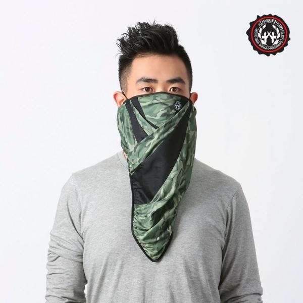 DREGEN  BL系列-三角巾面罩-中性迷彩 三角巾面罩、面罩、口罩