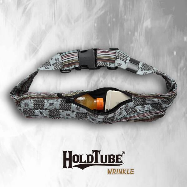 HOLDTUBE 運動腰帶-單口皺褶袋-山稜戰地 運動腰帶、水瓶袋、時尚單品、運動配件