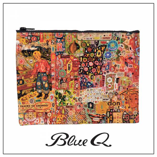 Blue Q 拉鍊袋 - Flotsam & Jetsam 浮華世界 收納袋,米袋,環保,創意,設計,再生,公益