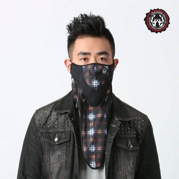DREGEN SG系列-防潑水面罩-雙面維諾尼亞 三角巾面罩、面罩、口罩
