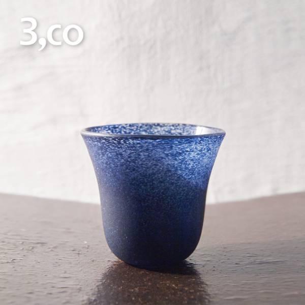 【3,co】手工彩色玻璃杯(小) - 藍 茶杯,酒杯,玻璃杯,杯,擺飾,光雕,玻璃,藝術,品味,花器,當代,國際,台灣之光,台灣,原創,設計,簡約,生活美學,空間,東方意象,驚豔,精品,禮物,禮品,送禮