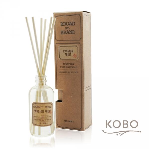 KOBO 美國天然擴香瓶 - 熱情果 (118ml/香氣維持60天) 精油蠟燭、蠟燭