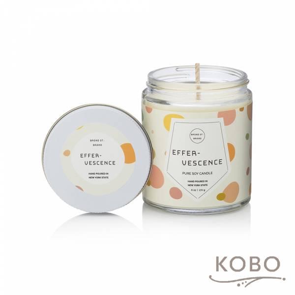 KOBO 美國大豆精油蠟燭 - 薑芬氣泡 (170g/可燃燒 35hr) 精油蠟燭,蠟燭,美國,香氛,天然,手工,旅行