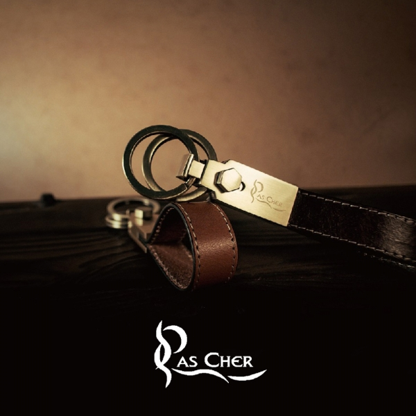 Pascher  巴夏喀典藏雙環鑰匙圈 鑰匙圈、吊飾