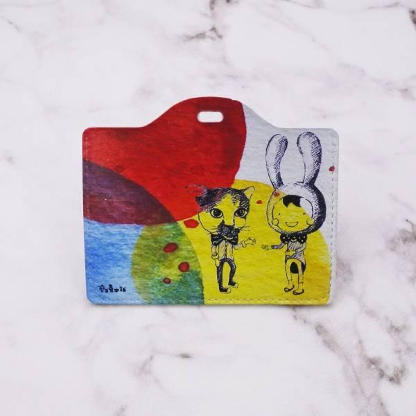 剪刀兔本鋪–證件套(橫式)–猜拳  卡套、悠遊卡套、可愛童趣