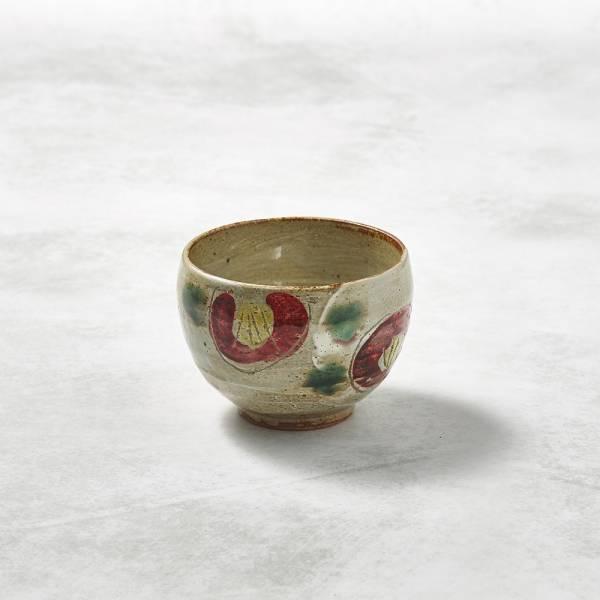日本KOYO美濃燒- 手感和風茶杯 - 山茶花 ★ 日本進口品質保證,檢驗合格餐具