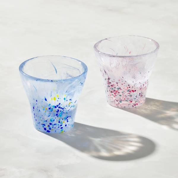 日本富硝子 - 手作浮世自由杯 - 對杯組 (2件式) - 170ml 日本,玻璃,玻璃杯,飲料杯