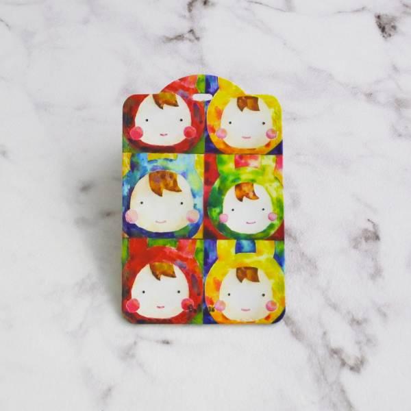 剪刀兔本鋪–證件套(直式)–兔之普普風 卡套、悠遊卡套、可愛童趣