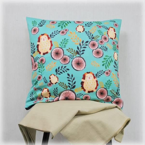 剪刀兔本鋪–抱枕套–森林裡的小蹦丸 枕頭套、寢具、可愛童趣