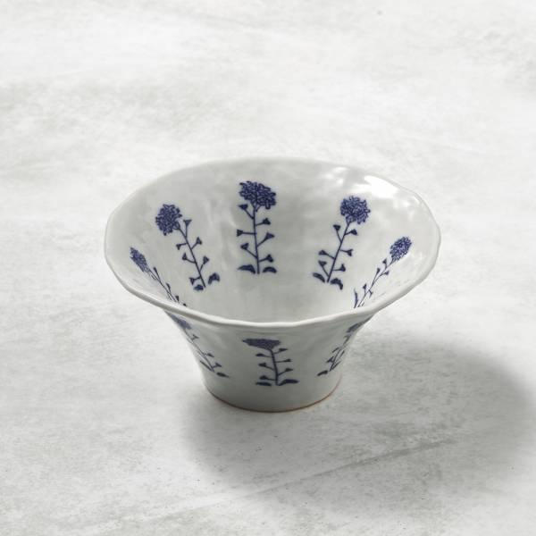 日本設計師系列 - 手捏陶 - 花叢廣口小缽 手捏,手作,職人,日本製,陶器,食器