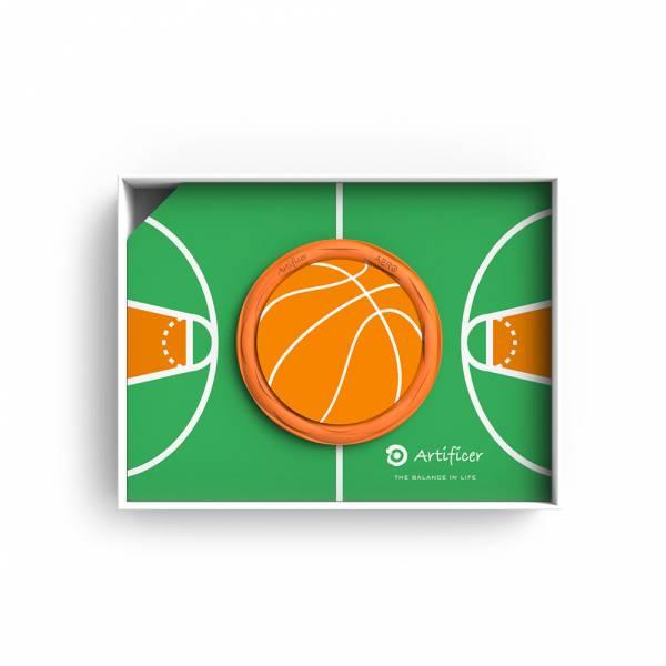 【Artificer】Rhythm for Kids 手環 - 籃球 (橘) 3C,兒童,手環,飾品,天然礦物,健康,設計,生物電流,負離子,遠紅外線,安全,專利