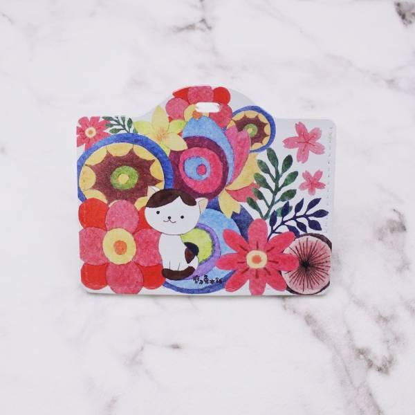 剪刀兔本鋪–證件套(橫式)–花花貓 卡套、悠遊卡套、可愛童趣