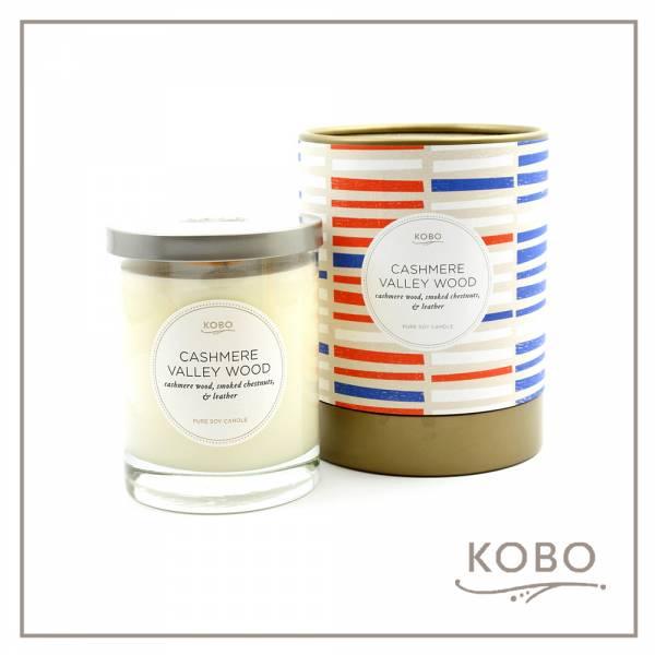KOBO 美國大豆精油蠟燭 - 秋意叢林 (330g/可燃燒80hr) 精油蠟燭、蠟燭
