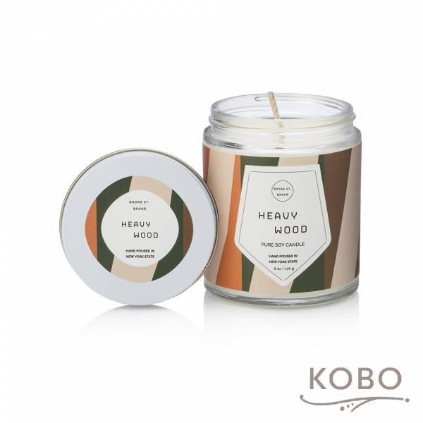 KOBO 美國大豆精油蠟燭 - 重檀香木 (170g/可燃燒 35hr) 精油蠟燭,蠟燭,美國,香氛,天然,手工,旅行