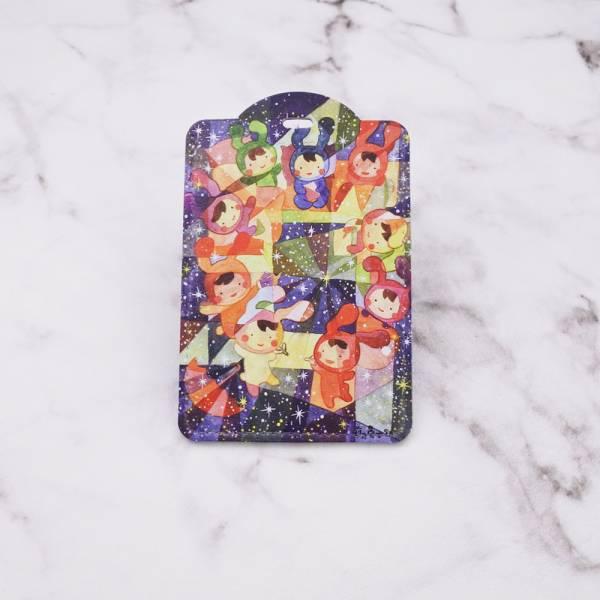剪刀兔本鋪–證件套(直式)–星晚會 卡套、悠遊卡套、可愛童趣