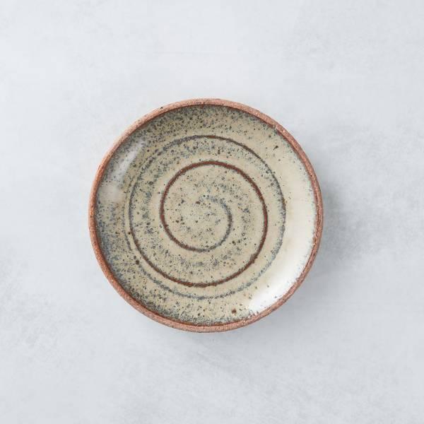 日本KOYO美濃燒 - 點心小盤 - 乳白 餐盤,陶盤,日本製,食器,手工,檢驗合格