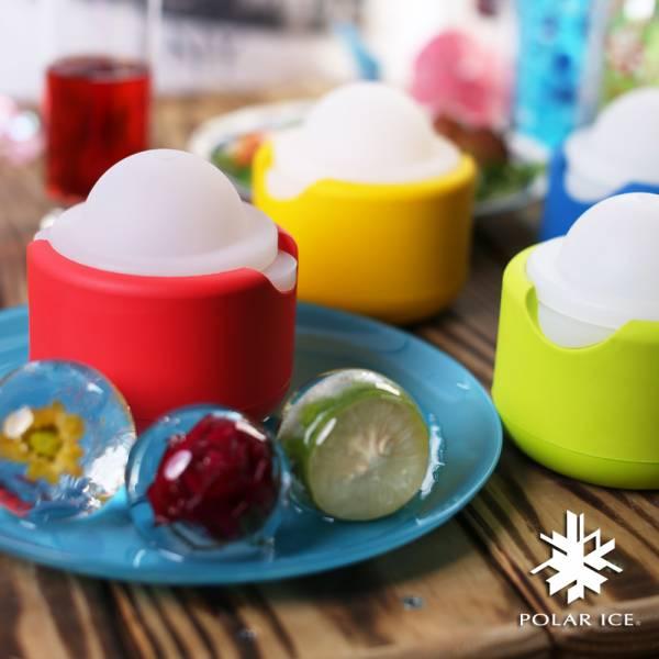 POLAR ICE 極地冰球-幻彩系列-雙個組 製冰盒、冰盒、冰球
