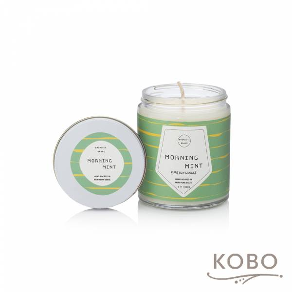 KOBO 美國大豆精油蠟燭 - 冰沁微晨 (115g/可燃燒 20hr) 精油蠟燭,蠟燭,美國,香氛,天然,手工,旅行