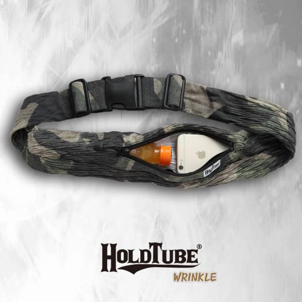 HOLDTUBE 運動腰帶-單口皺褶袋-中性迷彩 運動腰帶、水瓶袋、時尚單品、運動配件