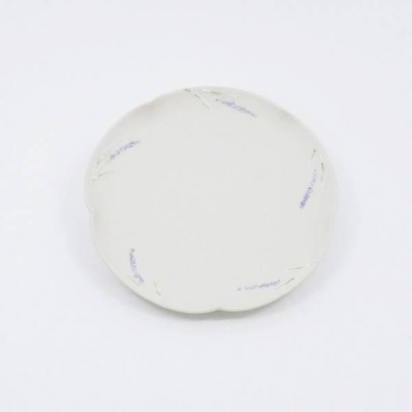 日本設計師系列 - 薰衣草花朵淺盤 手繪,手作,職人,日本製,陶器,食器