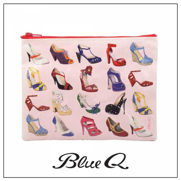 Blue Q 拉鍊袋 - Shoes 愛鞋一族 收納袋,米袋,環保,創意,設計,再生,公益