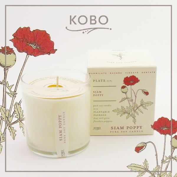 KOBO 美國大豆精油蠟燭 - 迷情美人 (280g/可燃燒60hr) 精油蠟燭、蠟燭