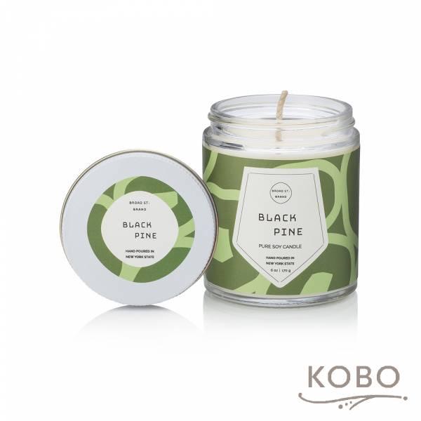 KOBO 美國大豆精油蠟燭 - 黑松野林 (170g/可燃燒 35hr) 精油蠟燭,蠟燭,美國,香氛,天然,手工,旅行
