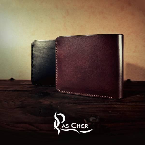 Pascher  巴夏喀簡約手工短夾A 短夾、皮夾、錢包