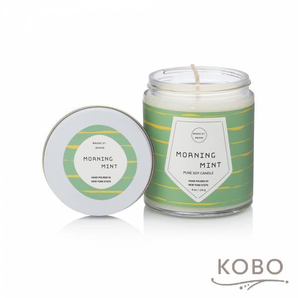 KOBO 美國大豆精油蠟燭 - 冰沁微晨 (170g/可燃燒 35hr) 精油蠟燭,蠟燭,美國,香氛,天然,手工,旅行