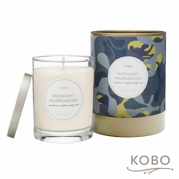 【KOBO】美國大豆精油蠟燭 - 北非午夜 (330g/可燃燒80hr) 精油蠟燭,蠟燭,美國,天然,香氛,手工