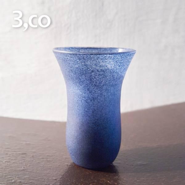 【3,co】手工彩色玻璃杯(大) - 藍 茶杯,酒杯,玻璃杯,杯,擺飾,光雕,玻璃,藝術,品味,花器,當代,國際,台灣之光,台灣,原創,設計,簡約,生活美學,空間,東方意象,驚豔,精品,禮物,禮品,送禮