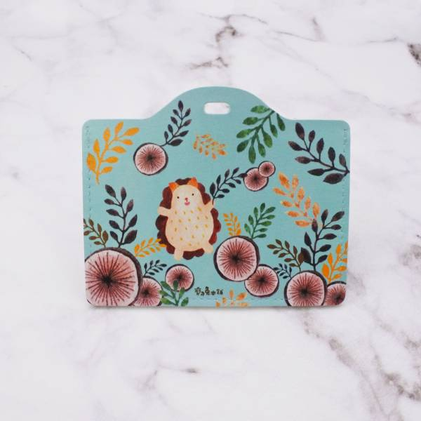 剪刀兔本鋪–證件套(橫式)–森林裡的小蹦丸 卡套、悠遊卡套、可愛童趣