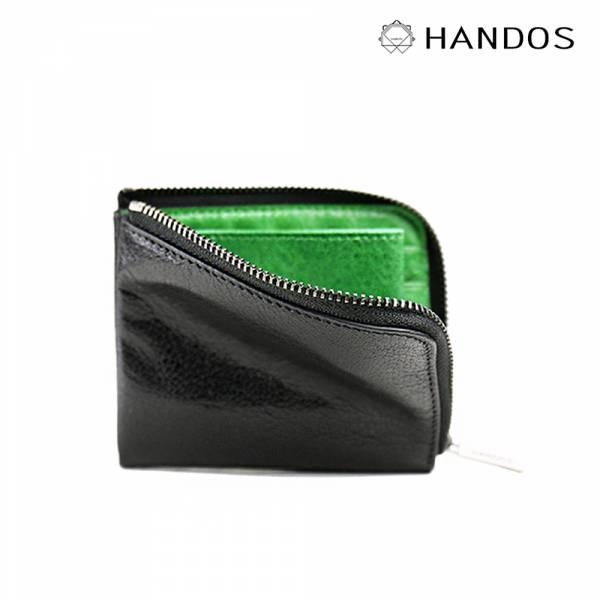 HANDOS|雙色短夾(4色)↘8折 真皮,設計師,台灣設計,訂製五金,植鞣皮革
