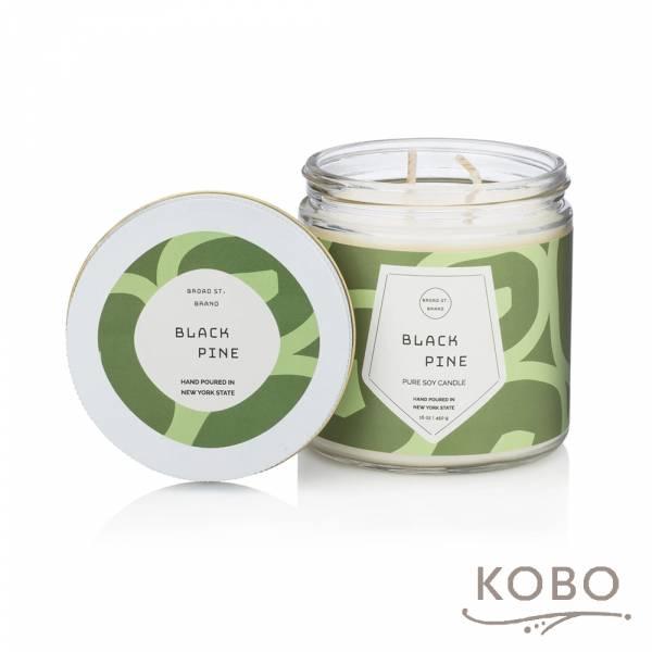 KOBO 美國大豆精油蠟燭 - 黑松野林 (450g/可燃燒 65hr) 精油蠟燭,蠟燭,美國,香氛,天然,手工,旅行
