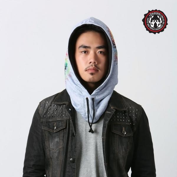 DREGEN  OF系列-時尚頭套帽-幻彩捕夢網 時尚頭套、帽子