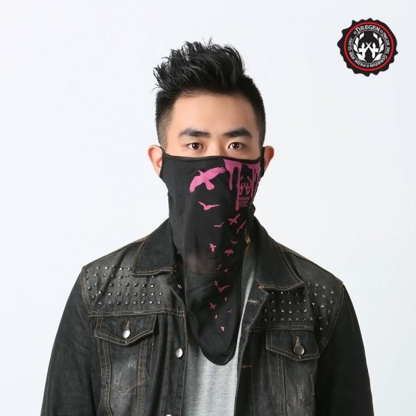 DREGEN  SB系列-輕薄面罩-夜行飛鷹 雙層面罩、面罩、口罩