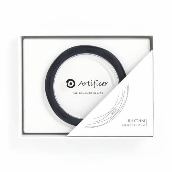 【Artificer】Rhythm 健康運動手環 - 黑 手環,飾品,天然礦物,健康,設計,生物電流,負離子,遠紅外線,安全,專利