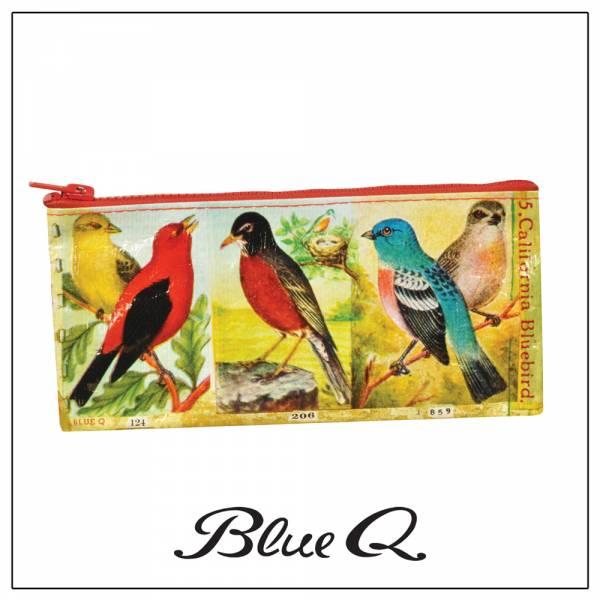 Blue Q 筆袋 - Birds 鳥 筆袋,收納袋,米袋,環保,創意,設計,再生,公益