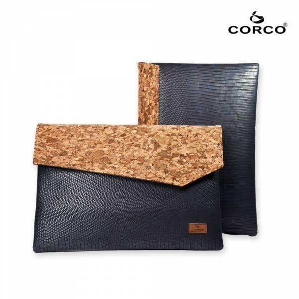 CORCO 軟木文件手拿包-海軍藍 軟木,韓國,環保