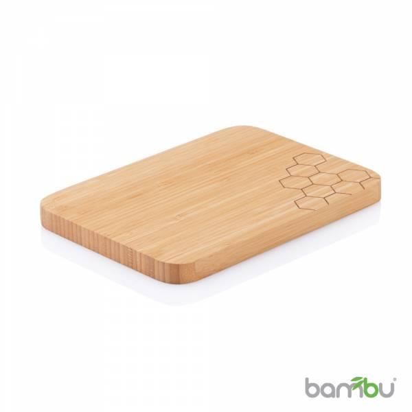 Bambu 美國天然餐具  摩登系列-竹風砧板(蜂巢) 湯匙 、空心湯匙 、鍋鏟