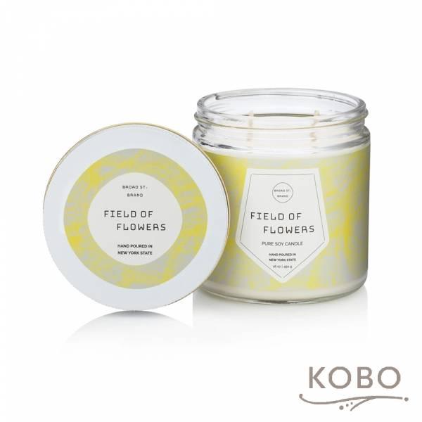 KOBO 美國大豆精油蠟燭 - 神秘花郁 (450g/可燃燒 65hr) 精油蠟燭,蠟燭,美國,香氛,天然,手工,旅行