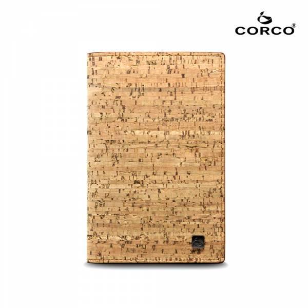 CORCO 經典軟木護照夾-原棕色  軟木,韓國,環保
