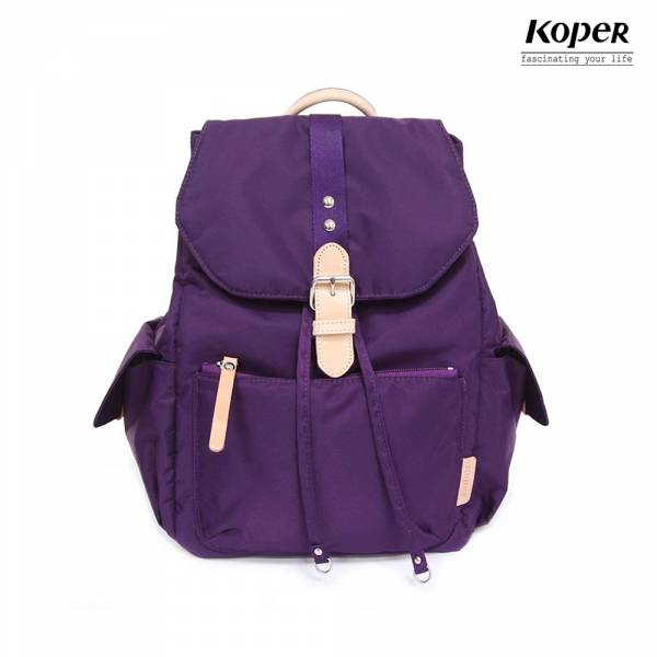 KOPER 輕甜焦糖系列-經典Lovely後背包-幻想紫 後背包、台灣設計製造