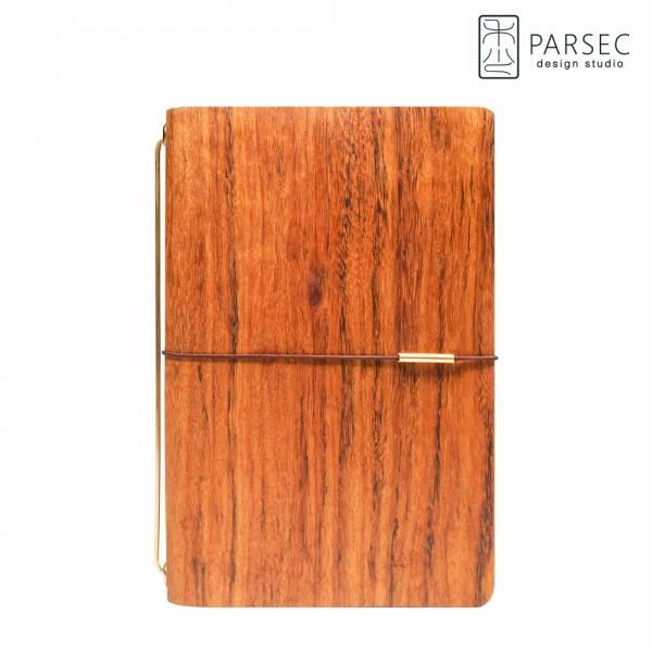 PARSEC|樹革柚木手帳 環保皮革,樹革,自然,手工,台灣製