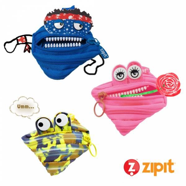 (4折出清)–Zipit 奇異小怪獸軍團(3件組) 怪獸拉鍊包、零錢包