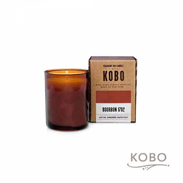 KOBO 美國大豆精油蠟燭 - 美式威士忌 (85g/可燃燒20hr) 精油蠟燭,蠟燭,美國,香氛,天然,手工,旅行,小容量,攜帶