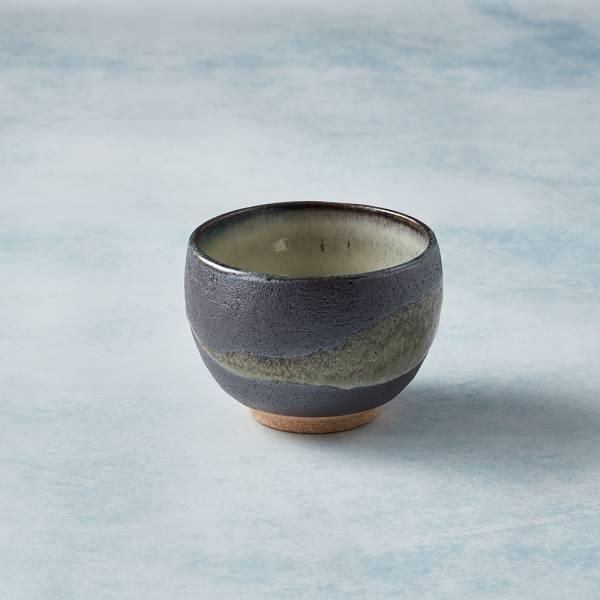 日本KOYO美濃燒 - 手感和風茶杯 - 流水行雲 陶杯,日本製,食器,手工,檢驗合格