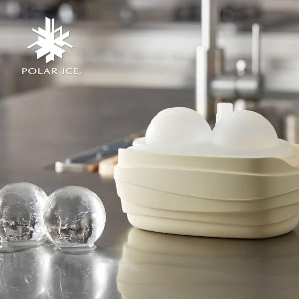 POLAR ICE 極地冰盒 - 極地動物系列 (北極白) 製冰盒、冰盒、冰球