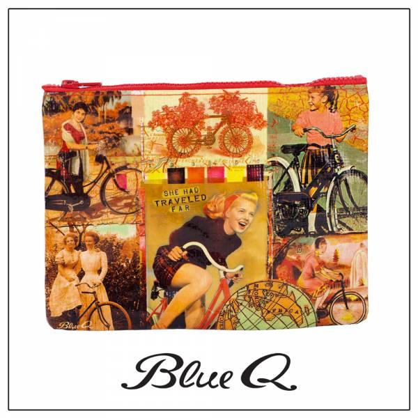 Blue Q 拉鍊袋 - Bicycle Traveler 單車客 收納袋,米袋,環保,創意,設計,再生,公益